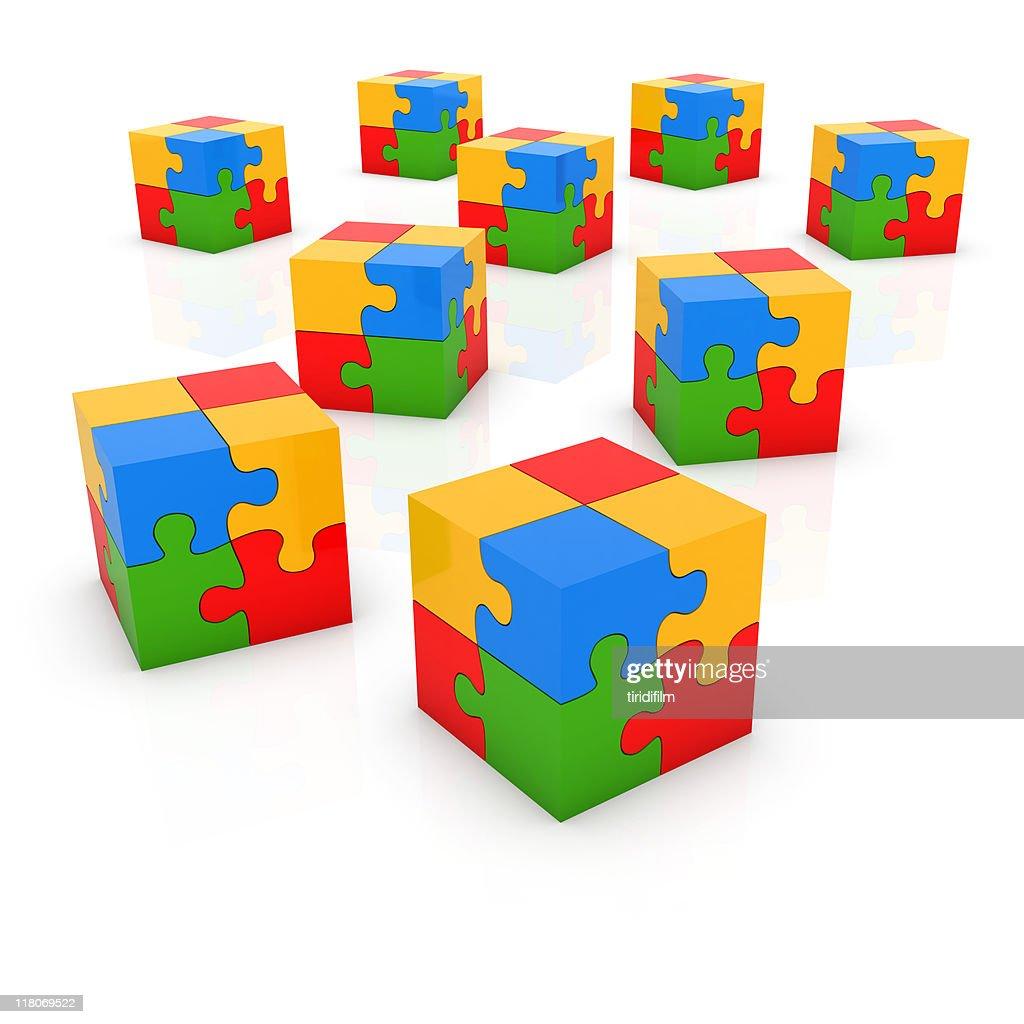 Puzzle Block : Stock Photo