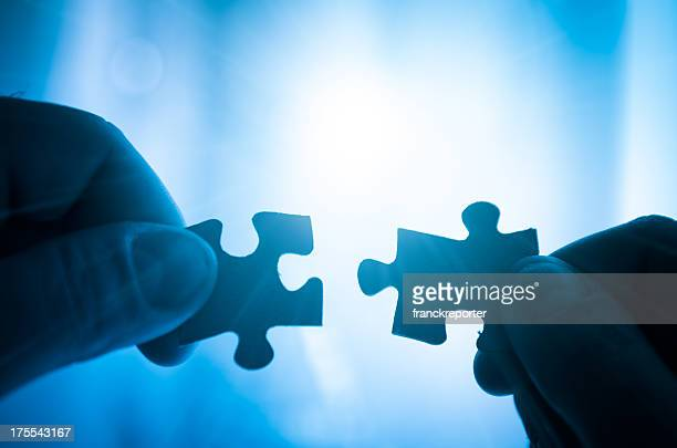 puzzle connection - teamwork