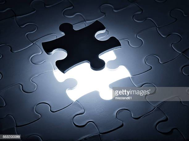 Puzzle game parts