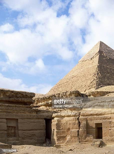 Pyramid at Giza Egypt Ancient Egyptian Old Kingdom Giza