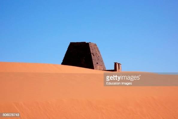 Pyramid Meroe Nubia Sudan North Africa