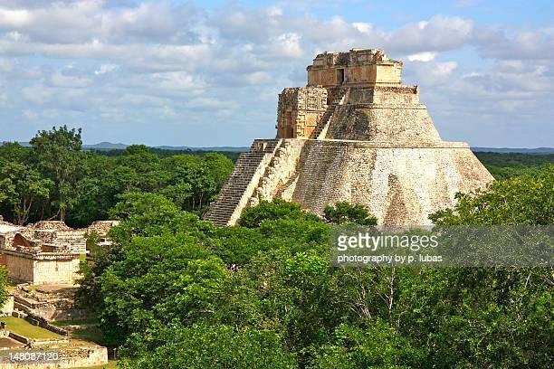 Pyramid of Magician - Uxmal