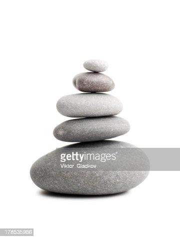 Pyramid of the stones : Stock Photo