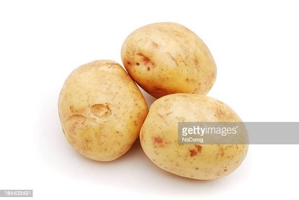 Pyramide de trois pommes de terre dorée
