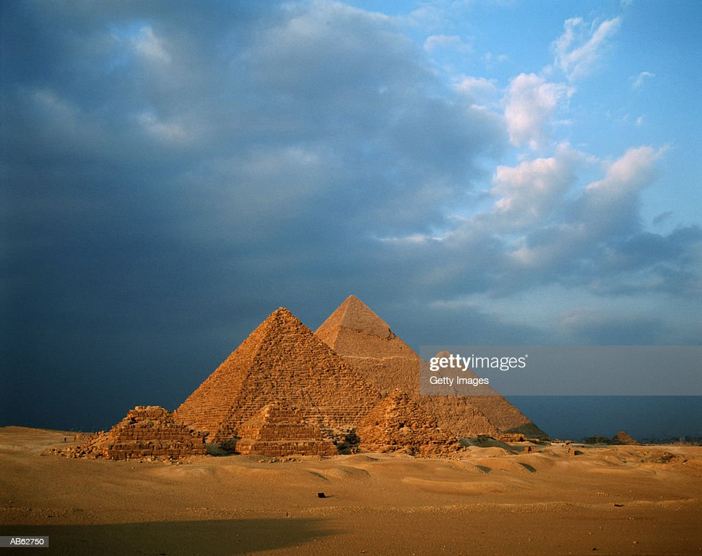 Pyramids, Giza, Egypt, Africa : Stock Photo
