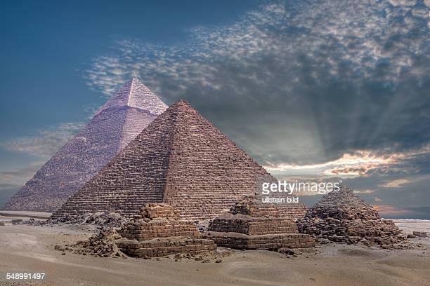 Pyramids of Giza Cairo Egypt
