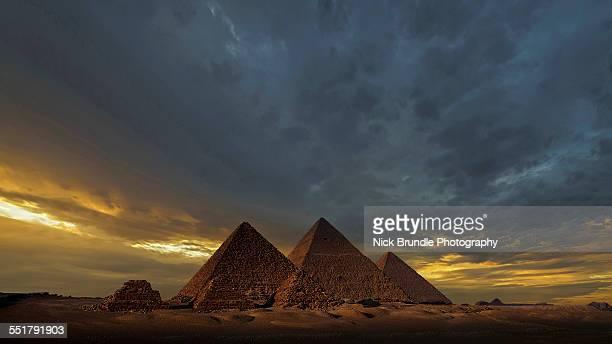 Pyramids of Giza, Egypt.