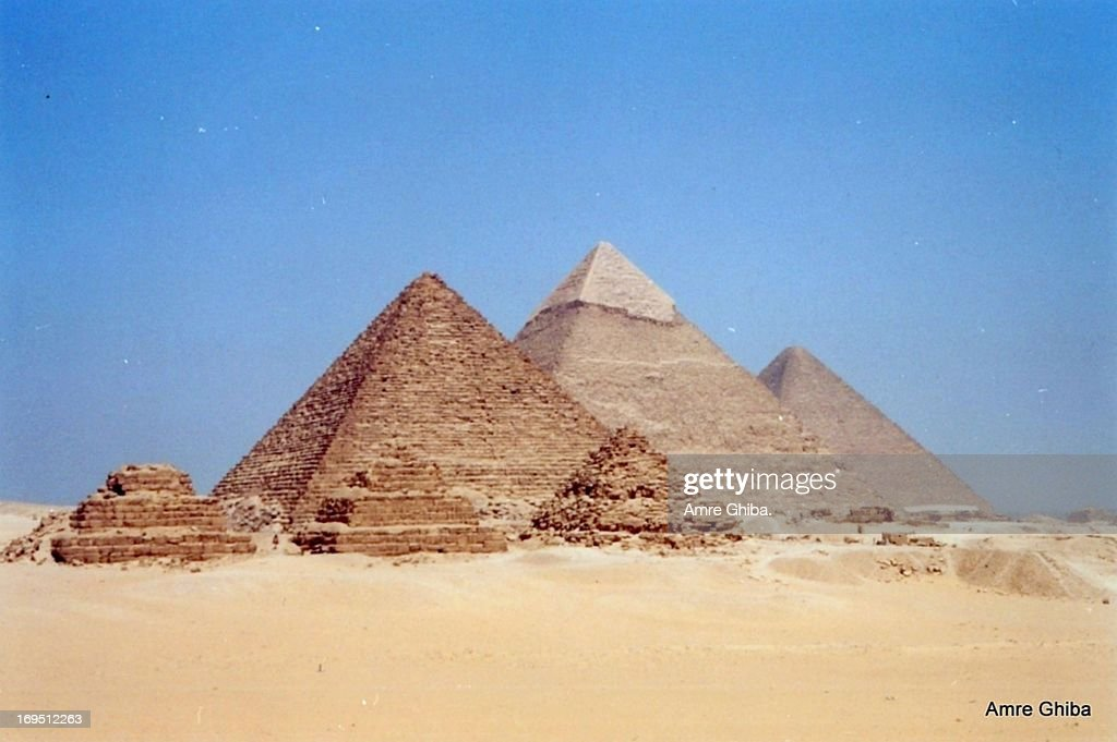 Pyramids of Gizeh, Egypt