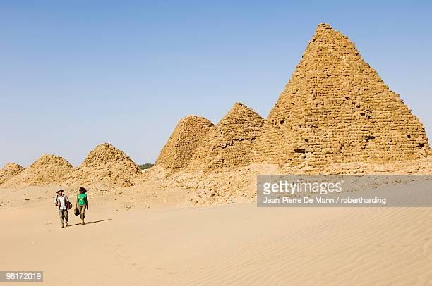 Pyramids of Nuri, Kingdom of Meroe, Sudan, Africa