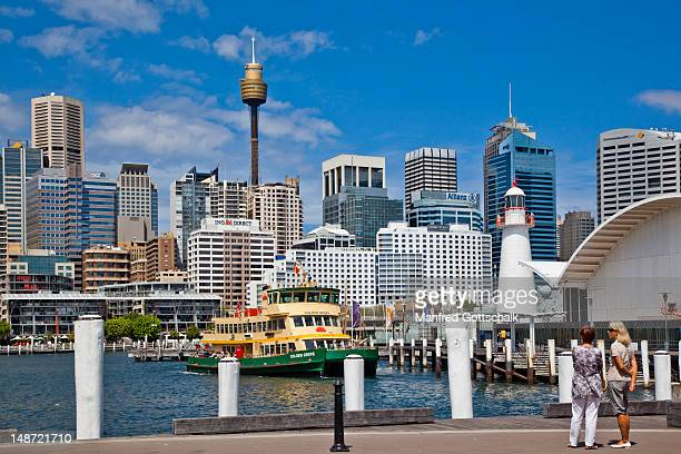 Pyrmont Bay Wharf and Australian National Maritime Museum, Darling Harbour.