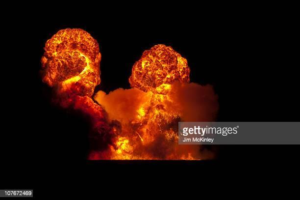 Pyrotechnics display