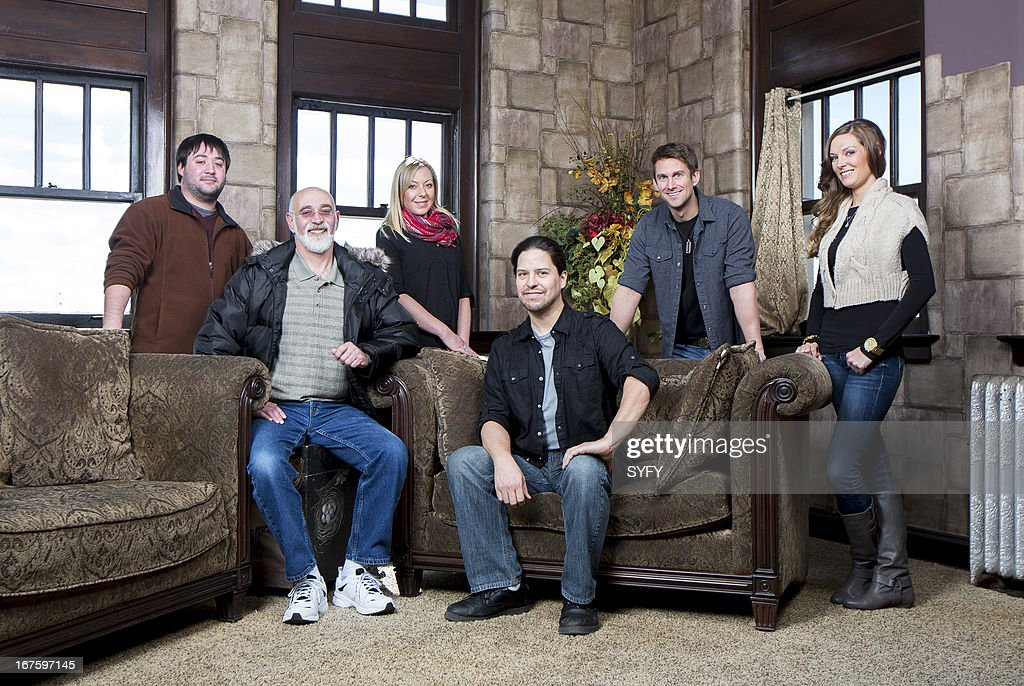 COLLECTOR -- 'Pythian Secrets' -- Pictured: (l-r) Chris Zaffis, John Zaffis, Aimee Zaffis, Brian Cano, Jason Gates, Jesslyn Brown --