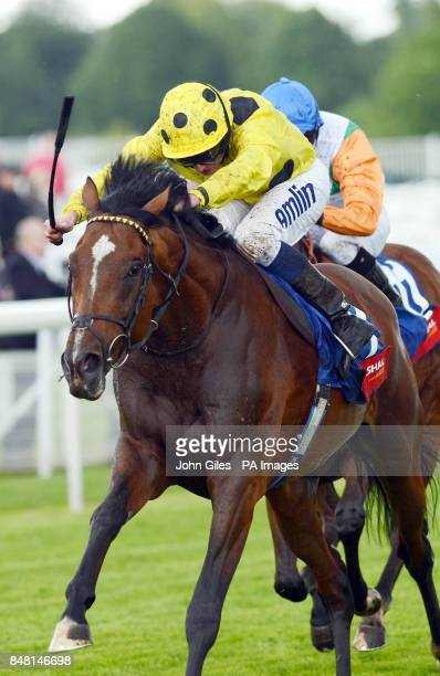 Qahriman and Ryan Moore win the Bond Tyre Stakes on Mid Summer Raceday during the June Meeting at York Racecourse York