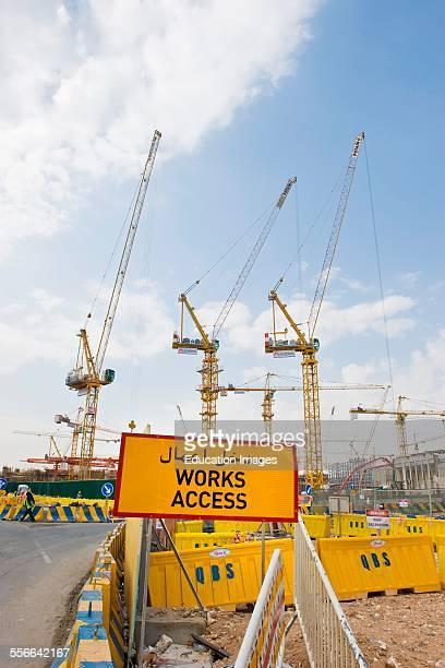 Qatar Doha Construction Site