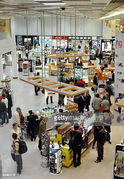 Qatar Hauptstadt Doha Flughafen Duty Free Shops