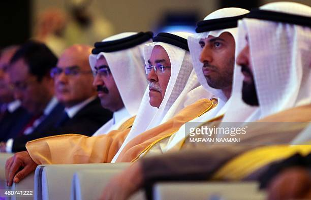 Qatar Oil Minister Mohammed bin Saleh AlSada Saudi Oil Minister Ali alNaimi United Arab Emirates Energy Minister Suhail bin Mohamed alMazroui and...