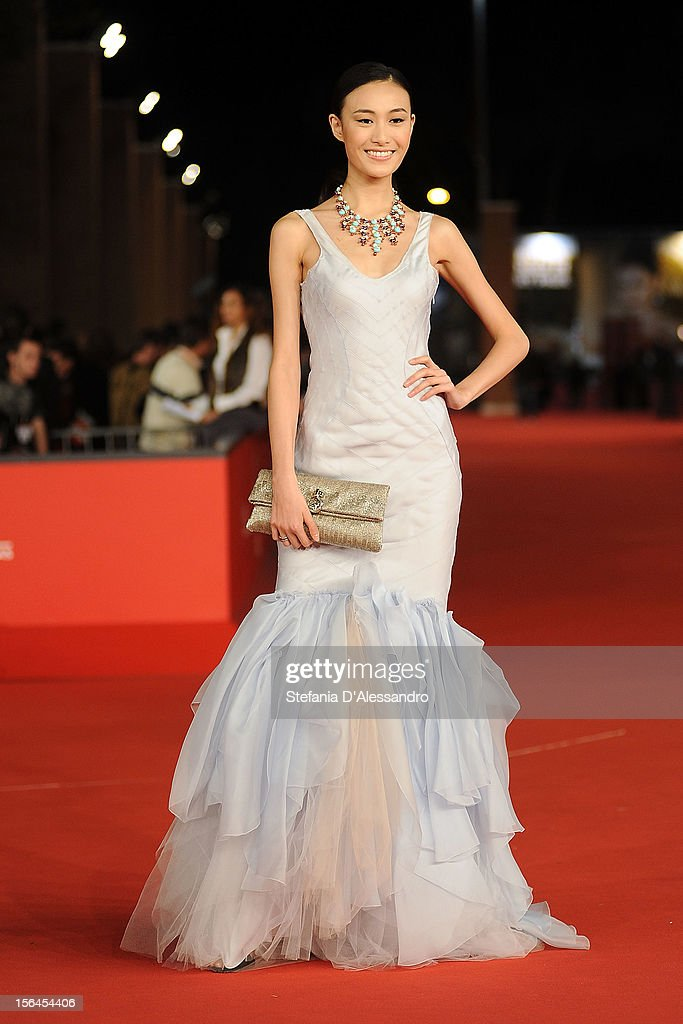 Qin Shupei attends 'Bullet To The Head' Premiere at Auditorium Parco Della Musica on November 14, 2012 in Rome, Italy.