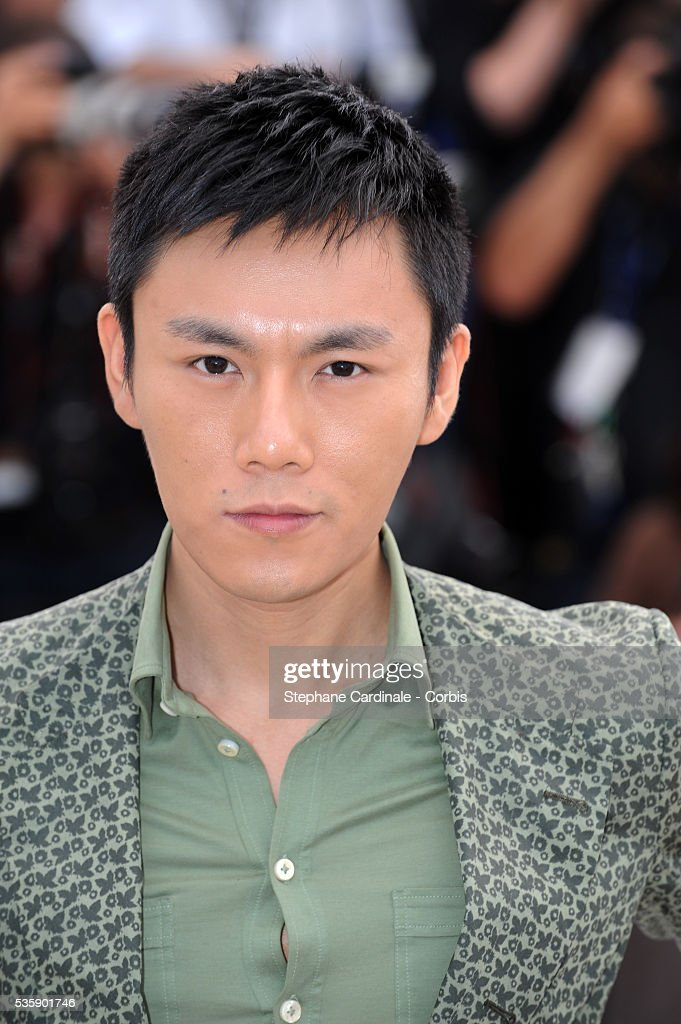 Qing Hao at the Photocall for 'Chongqing Blues' during the 63rd Cannes International Film Festival.
