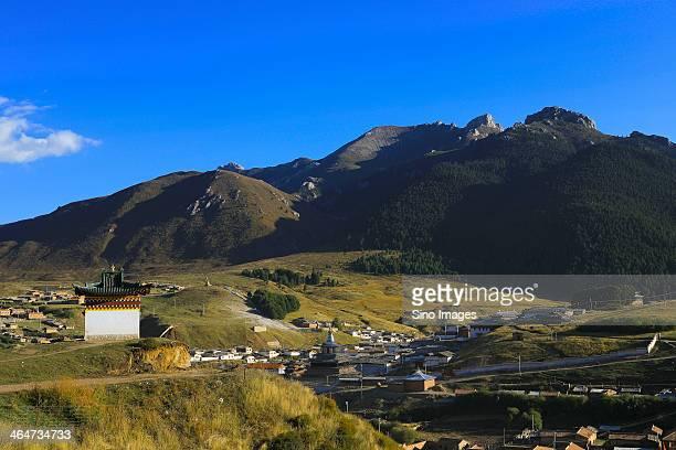 Qinghai mountain scenery