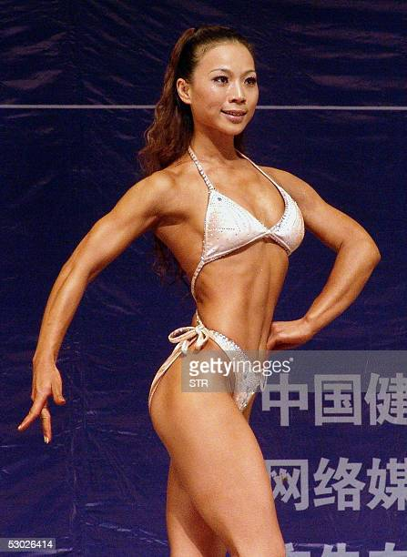 Asian Female Bodybuilder Stock Photos and Pictures | Getty ...