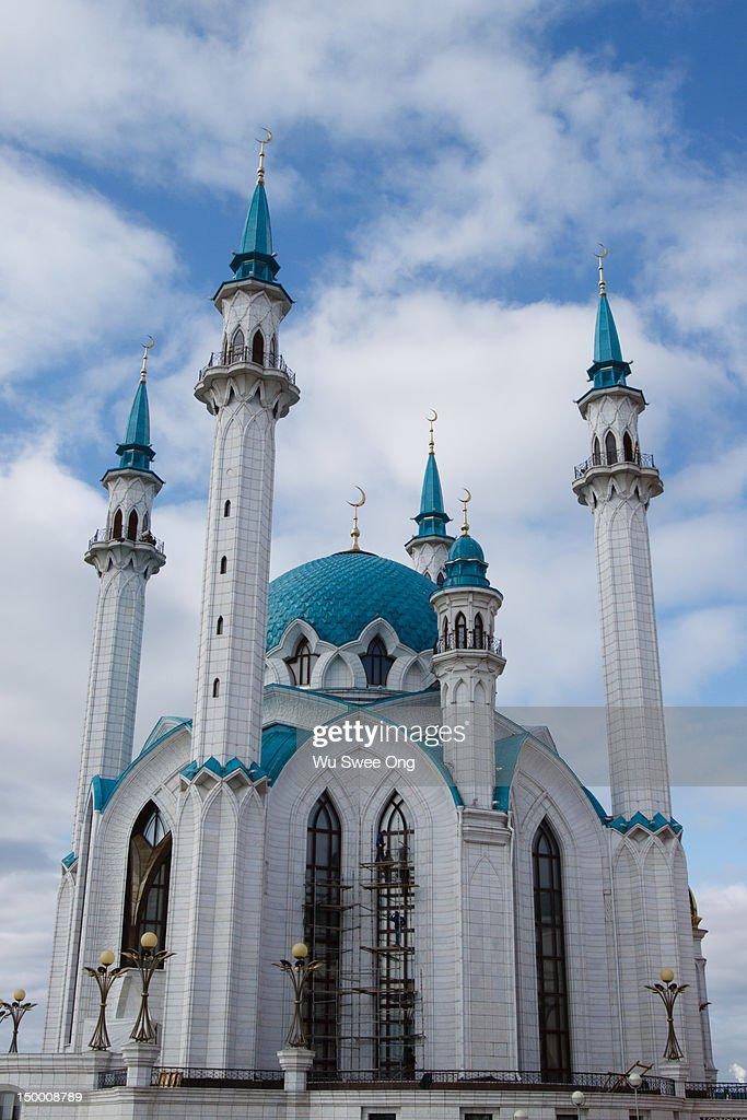 Qolsharif Mosque : Stock Photo