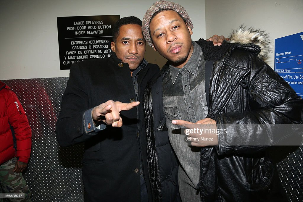 Q-Tip and Vado attend The Legendary Tunnel Party at B.B. King Blues Club & Grill on January 31, 2014 in New York City.