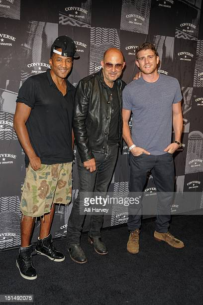QTip John Varvatos and Bryan Greenberg attend The Converse by John Varvatos Weapon Launch Event during New York Fashion WeekCelebration at John...