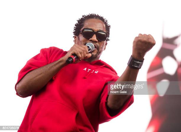 Tip of A Tribe Called Quest performs at the 2017 Panorama Music Festival at Randall's Island on July 30 2017 in New York City