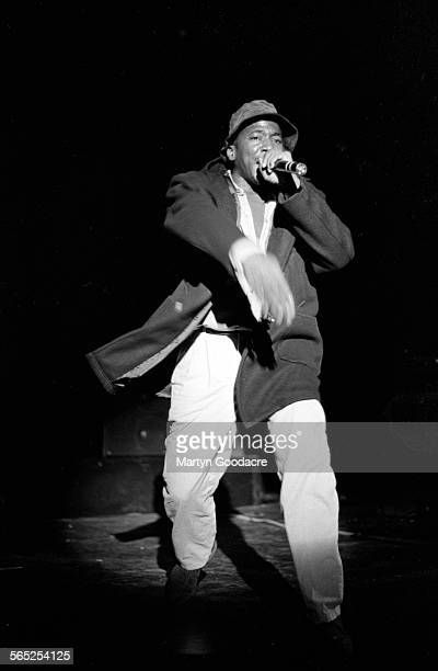 QTip of A Tribe Called Quest performs on stage London United Kingdom 1990