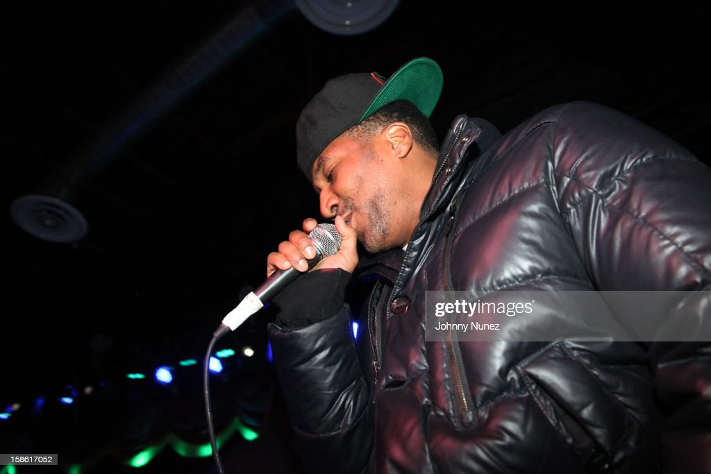 Q-Tip performs at Brooklyn Bowl on December 20, 2012, in New York City.
