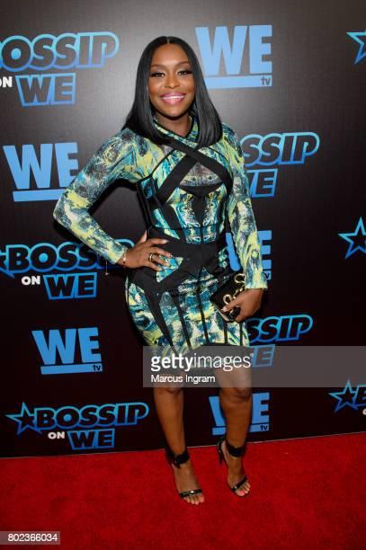 Quad WebbLunceford attends 'Bossip On WE' Atlanta launch celebration at Elevate at W Atlanta Midtown on June 27 2017 in Atlanta Georgia
