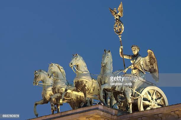 Quadriga on Brandenburg Gate