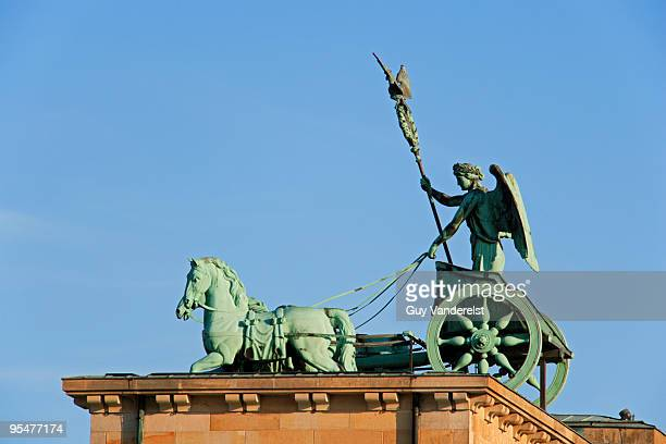 Quadriga on top of the Brandenburg Gate