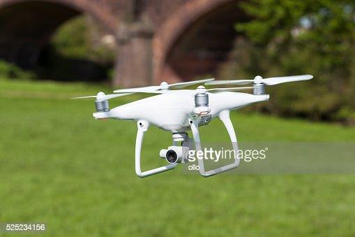 Quadrocopter drone Phantom 4 of DJ Innovations