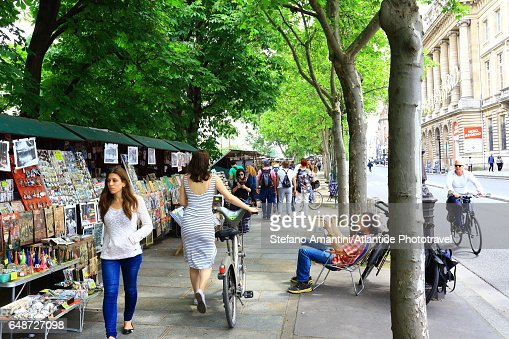 Quai de Montebello : Stock Photo
