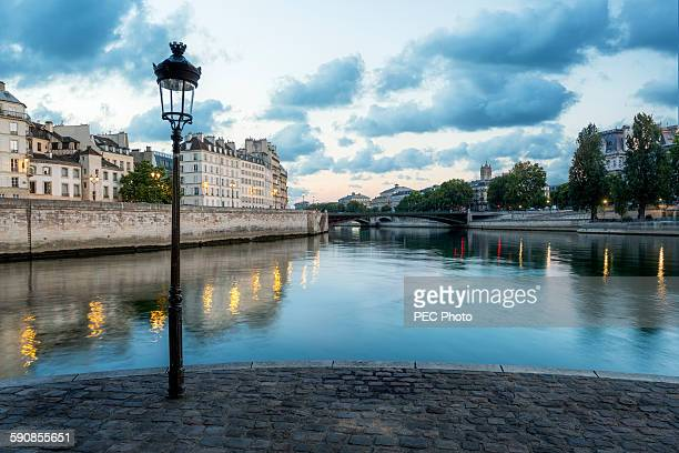 Quai de Seine in Paris