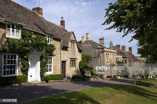 Quaint Cotswold cottages, Burford, Oxfordshire, UK