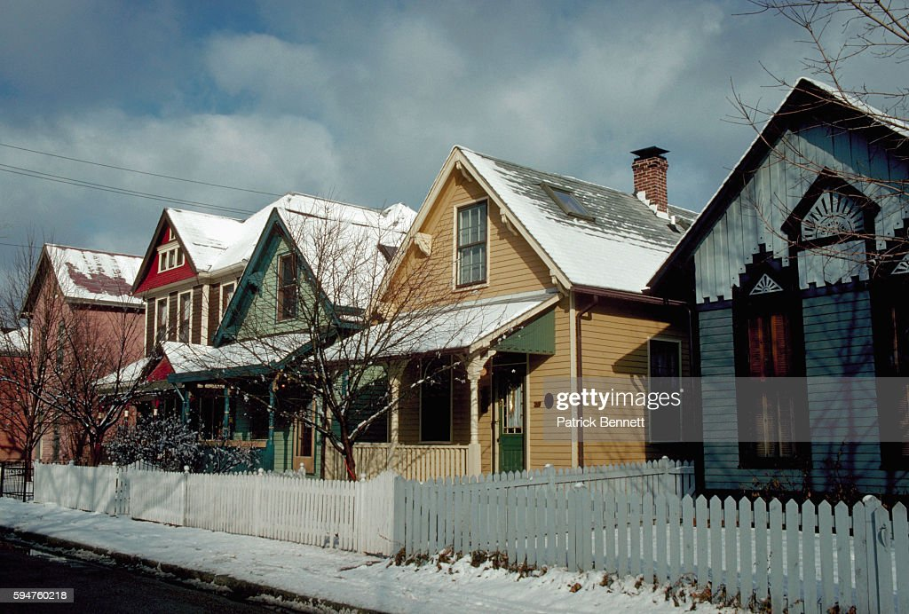 Quaint Houses of Neighborhood
