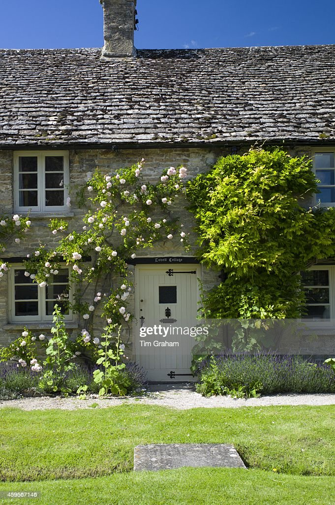 Quaint traditional cottage in Minster Lovell in The Cotswolds Oxfordshire UK