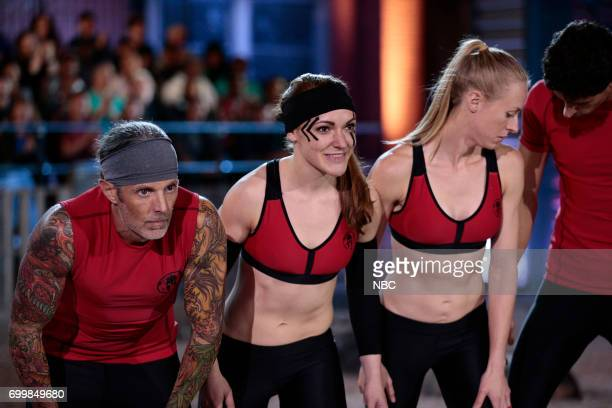 CHALLENGE 'Qualifiers Night 4' Episode 204 Pictured Kevin Gillotti Laura Messner Lynnae Kettler Beni Gifford of team 'The Comeback Kids'