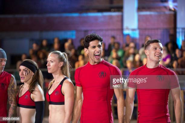 CHALLENGE 'Qualifiers Night 4' Episode 204 Pictured Kevin Gillotti Laura Messner Lynnae Kettler Beni Gifford Matthew Campione of team 'The Comeback...