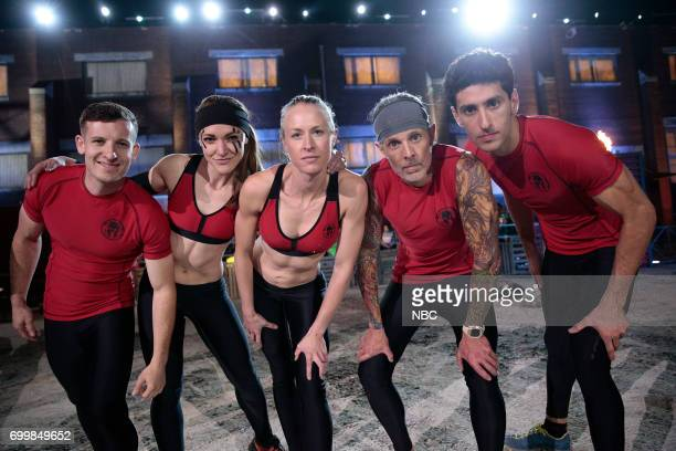 CHALLENGE 'Qualifiers Night 4' Episode 204 Pictured Matthew Campione Laura Messner Lynnae Kettler Kevin Gillotti Beni Gifford of team 'The Comeback...
