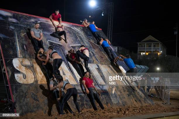 CHALLENGE 'Qualifiers Night 4' Episode 204 Pictured Team 'Sweet Carolina' team 'The Comeback Kids' team 'Strike a Pose'