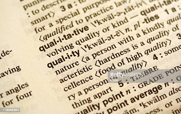 Quality Defined