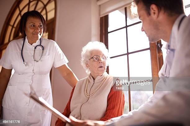 品質ヘルスケアの高齢者
