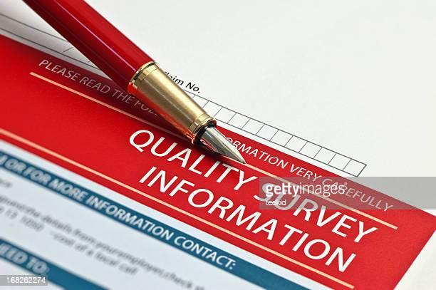 Enquête qualité des informations