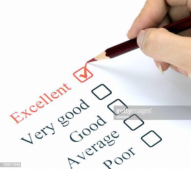 Quality survey