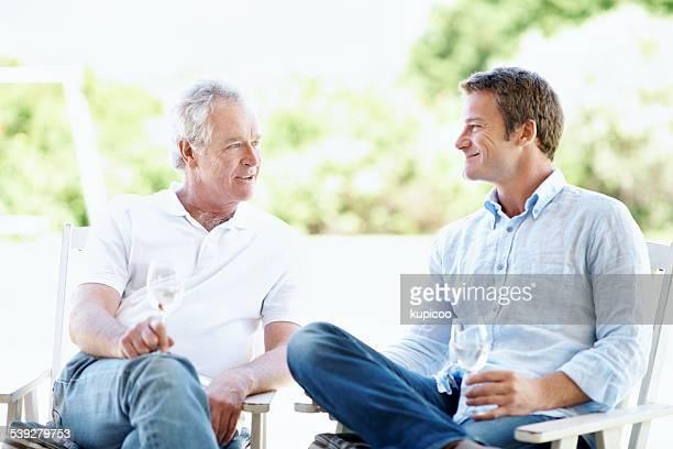 Tempo di qualità con il suo uomo anziano