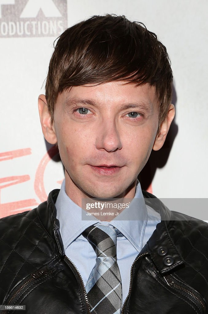 <a gi-track='captionPersonalityLinkClicked' href=/galleries/search?phrase=DJ+Qualls&family=editorial&specificpeople=216352 ng-click='$event.stopPropagation()'>DJ Qualls</a> attends the FX's New Comedy Series 'Legit' Premiere Screening held at the Fox Studio Lot on January 14, 2013 in Century City, California.