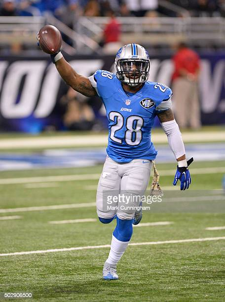 d5c20245a ... Quandre Diggs of the Detroit Lions looks on during the game against the  Oakland Raiders at .
